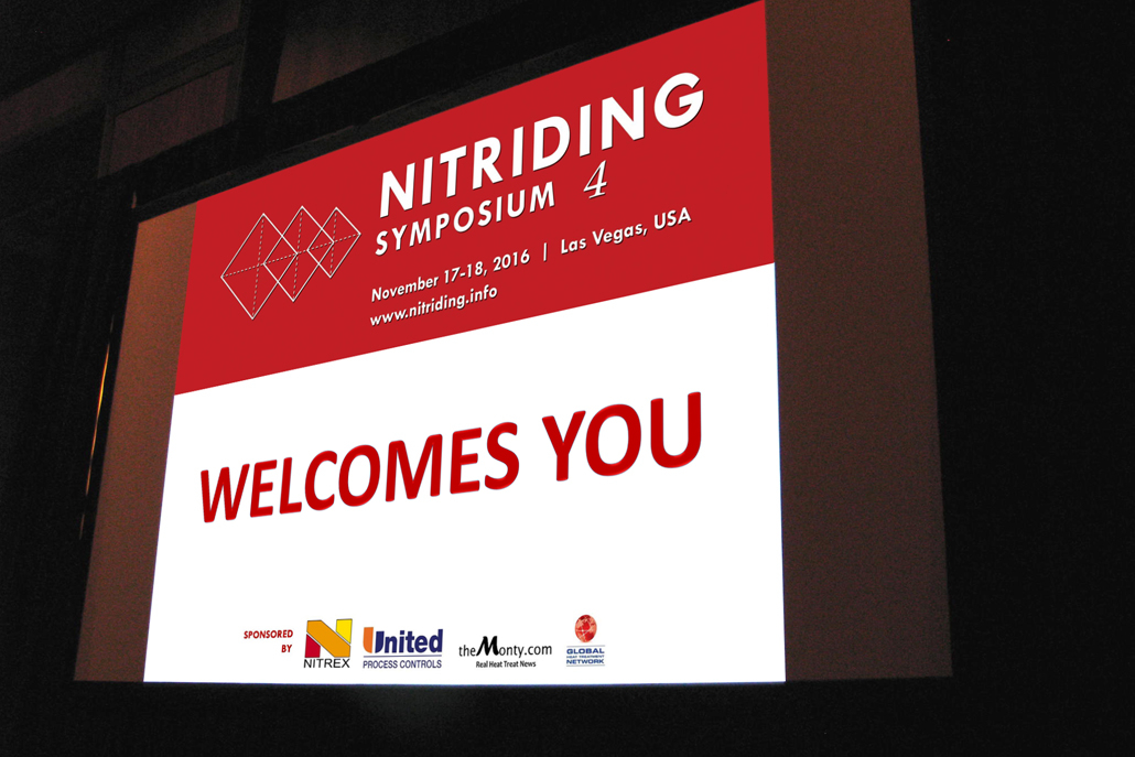 November 17, 2017 - Opening Day of Nitriding Symposium 4 (NS4) in Las Vegas, NV, USA
