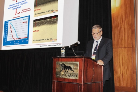 Mr. Jack Kalucki of Nitrex Metal Inc. Presented Environmentally-Friendly Depassivation and Nitriding of Stainless Steels