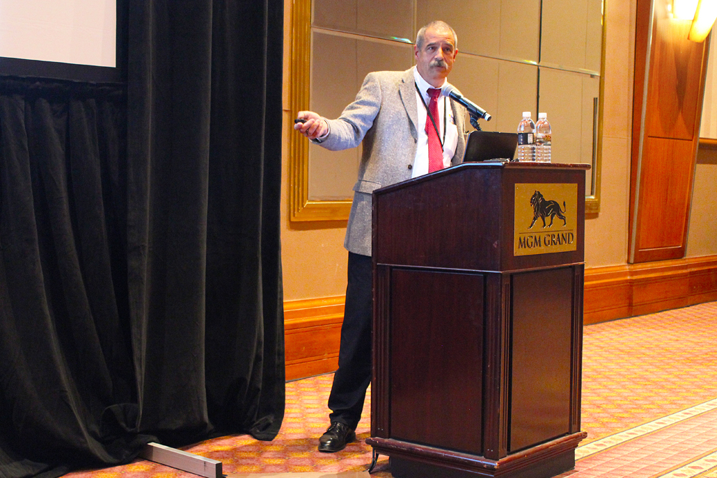Mr. Karl-Michael Winter of Process-Electronic GmbH, a member of United Process Controls, Presented Simulation of Nitriding / Nitrocarburizing Process