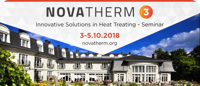 Novatherm 3 - Innovative Solutions in Heat Treating Seminar