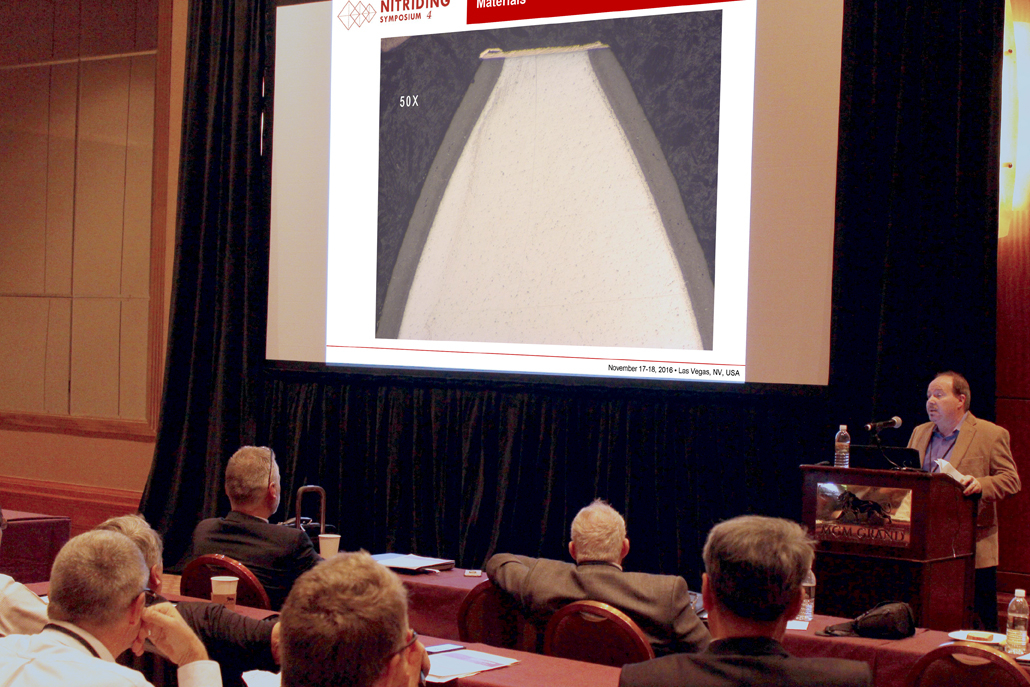 Mr. Shaun Radford of Continental Heat Treating Inc. Presented Practical Gas Nitriding of Aerospace Gears