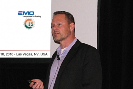 Mr. Gunter Connert of EMO/CIS Presented Parts Cleaning Before & After Nitriding as a Value-Added Process Step