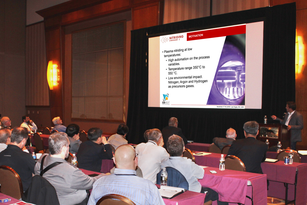 Mr. Andrés Bernal of Ion Heat Presented Electrochemical Behavior in SBF of 316l Stainless Steel Thermochemically Treated by Ion Nitriding