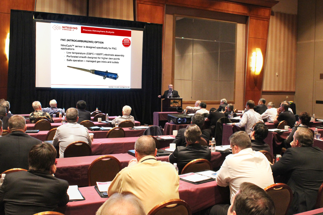 Mr. Patrick Torok of United Process Controls Inc. Presented Solution-Oriented Approach to Nitriding / Nitrocarburizing Controls